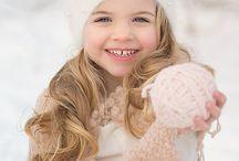 зимние фото для девочек