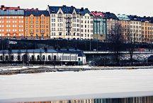 Stockholm / While I was living in Sweden..