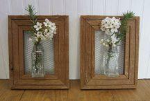 vase på drivtømmer