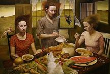 Andrea Kowch Artist / Andrea Kowch  / by Rae Bowman