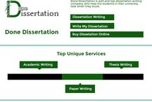 Done Dissertation / Done Dissertation is the most reliable dissertation writing service company in UK who help the students who are facing issues in their academic career.