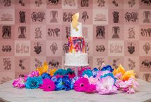 Art School Styled Shoot at The Anthologist / Modern, colourful art themed wedding styled shoot at our very own city venue The Anthologist. Styled by http://www.carmelaweddings.co.uk/ Photos by http://www.amandakarenphotography.co.uk/