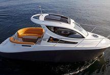 яхты, лодочные домики, отдых на воде