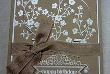 Stampin up Meadow Morning