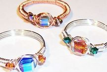 Wire wrapping tutorials and ideas / Inspiration, ideas, and tutorials on wire wrapping beads, buttons, and Gems