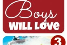 Books & Boys / by Victoria Antonitis