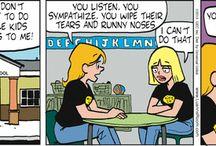 school comic / by Tracy Dulas