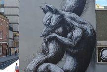 World of Urban Art : ROA  [Belgium]