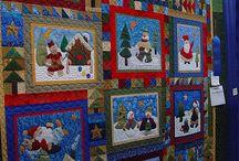 Kerst quilt