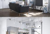 Projekty salonów