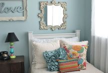 Teen Girl Vintage Chic Bedroom Makeover