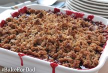 #BakeForDad / What better way to celebrate Dad than by making him something sweet? Get inspired