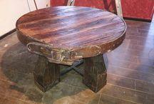 mesa roble francés