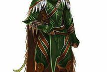 Elfí kostýmy