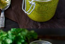 Sauces, dips and salad dressings