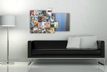 CD-Wall, media design for home / Design Regal @CDs @DVDs @Blu-Rays Design Wandregale der Zukunft für die elektronische Vergangenheit cds aufbewahren