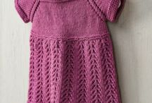 Knitting: baby maglie