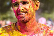 Run'Bow Colors Toulon 2015 / Course avec poudres de couleurs