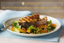 Benefits of Three Most Popular Seafood Meat for Your Health