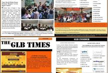 """GLBIMR proudly presents its Student Newspaper : """"The GLB Times"""""""