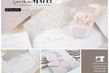 INVITATII NUNTA BY CORINA MATEI | SHOP ONLINE / by Eventure Central Store | Toni Malloni, Event Designer & Corina Matei, Graphic Designer www.c-store.ro | www.eventure.com.ro | www.eventina.ro