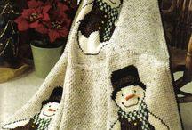 kerst dekens en decoraties