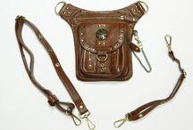 Steampunk fashion / Steampunk I like. Leather, straps, fashion