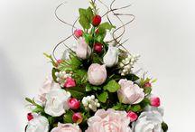 Stroiki, kompozycje kwiatowe