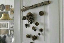winter and christmas room decor diy