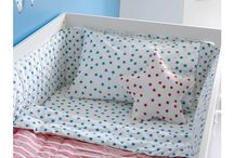 B is for Bedding / Pillows, blankets, duvets, bumpers, everything for a cosy nights sleep!