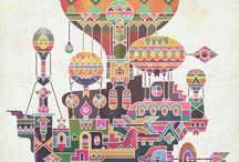 balloons / by Diane Reid