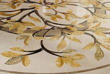 waterjet marble floor
