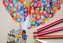 luftballons zeichnen