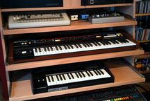 Racks for recording studios / To keep all kinds of racks for recording studios