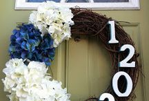 Curb Appeal / Architectural elements and decorative touches for front of house.