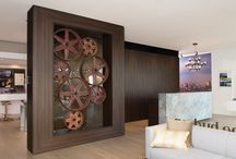 NAV   D i s p l a y s / This board displays installations of New Age Veneers (NAV) in Apartment Sales Displays and Kitchen showrooms around Australia.