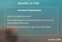 Kreato CRM Benefits