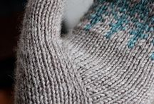 warm woollen mittens / a few of my favourite [fibre-y] things / by Annie Bee