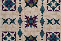 Mystery Quilt 2015 / Star Crazy Quilt designed by Karen Bates for Sew Creative Ashland.