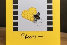 Uniko Bee Happy Clear Stamp Set