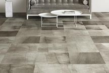 Corporate Flooring Inspiration / Corporate flooring doesn't have to be boring! Ideas for making work spaces attractive and engaging.