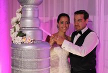 Unique wedding cake silver Stanley Cup // OneWed This thing is crazy cool!