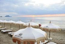 Spiaggia / La spiaggia del Grand Hotel Alassio www.grandhotelalassio.it