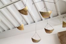 mobiles / hanging selection of perfectly balanced objects