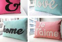 Home Decor (just pillows) / Pillows that caught my eye.