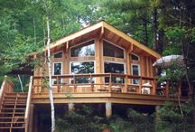 Cottage and Vacation homes - A girl can dream!