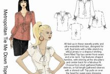 Sewing Pattern Queue / Sewing patterns I'm interested in making someday. I don't own these yet.