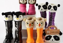 Animal boot cuffs