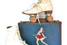 vintage roller skating new