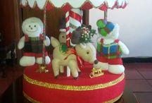carrusel navidad